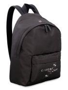 Givenchy Essential U Logo Detail Nylon Backpack - Nero