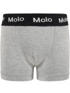 """Molo Multicolor """"justin"""" Set For Boy With Logo - Multicolor"""