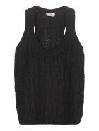 Fendi Knitted Top - black