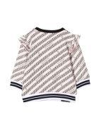 Givenchy Newborn Pink Sweatshirt - Rosa/nero