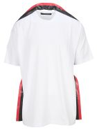 Y/Project Stripe Trim T-shirt - WHITE GREY