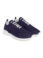 Kiton Shoes Cotton - NAVY BLUE
