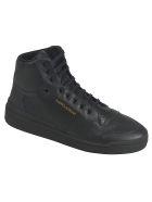 Saint Laurent High Top Sneakers - Black