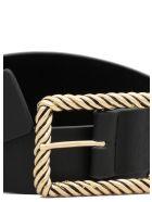B-Low the Belt Janelle Leather Belt - BLACK GOLD