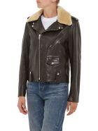 Department Five GASKELL leather biker jacket - NERO