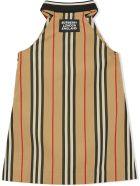 Burberry Beige Cotton Dress - Beige