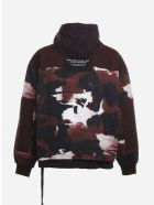 Dolce & Gabbana Loose-fit Sweatshirt With Camouflage Print - Black, red
