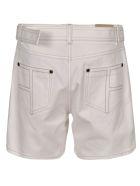 Tom Ford Belted Denim Shorts - Chalk