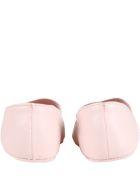 Fendi Pink Ballerinas Flats For Baby Girl - Pink