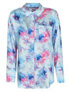 MSGM Floral Printed Shirt