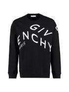 Givenchy Logo Detail Cotton Sweatshirt - Nero e Bianco