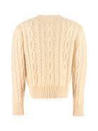 Telfar Cable Knit Pullover - Ecru