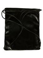 Saint Laurent Drawstring Backpack - Black