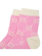 Gucci Pink Socks For Babygirl - Pink
