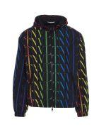 Valentino 'vltn Times' Jacket - Multicolor