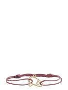 Aliita Nave Espacial Charm Cord Bracelet - Burgundy