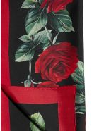 Dolce & Gabbana Scarf - Rose fdo nero