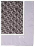 Liu-Jo 'logo Chain' Foulard - Grey