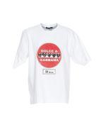 Dolce & Gabbana Road-sign Print T-shirt - White