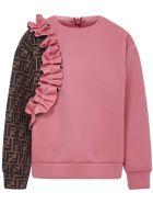 Fendi Kids Sweatshirt - Pink