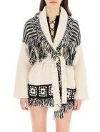 Alanui El Paso Oversized Cardigan - LAPPONIA WHITE (White)