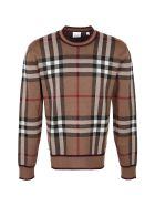 Burberry Merino Wool Crew-neck Sweater - brown