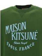Maison Kitsuné Kitsuné Sweatshirt - Khaki
