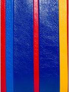 Balenciaga Barbes Multicolor Striped Leather Handbag - Multicolor