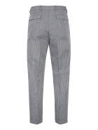 Prada Wool-mohair Blend Tailored Trousers - grey