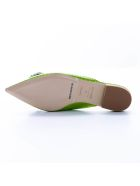 Giannico Giannico  Leather Sandal - GREEN