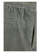 Brunello Cucinelli Velvet Trousers - Light Grey