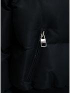 Alexander McQueen Black Padded Jacket With Logo Print - Black