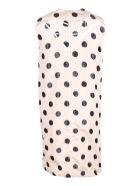 Prada Silk Dress - Sabbia/Nero