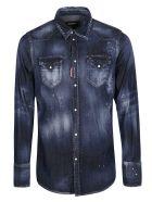 Dsquared2 Regular Denim Shirt - Blu