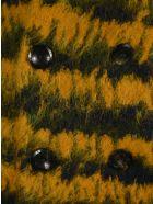 Saint Laurent Jacquard Double Breasted Blazer - GOLD MULTICOLOR