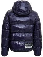 Dsquared2 Blue Nylon Down Jacket - Blu