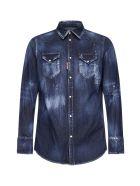 Dsquared2 Shirt - Navy blue