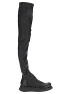 Rick Owens Creeper Para Stocking - BLACK