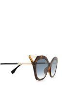 Fendi Fendi Ff 0357/g/s Havana Sunglasses - Havana