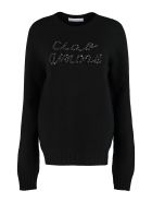 Giada Benincasa Wool Blend Pullover - black