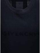 Givenchy Black Cotton T-shirt With Logo - Black