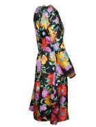 Gucci Floral Dress - Nero/Rosa