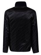 Christian Dior Side Zip Pocket Detail Jacket - Blue