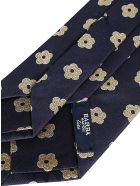 Barba Napoli Navy Blue Silk Tie - Multicolor