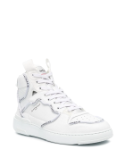 Givenchy Man White Wing High Sneakers With Profiles