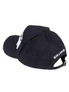 Dsquared2 Icon Embroidered Baseball Cap - Navy/White