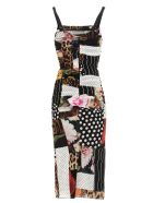 Dolce & Gabbana 'patchwork' Dress - Multicolor