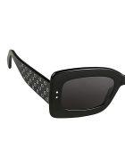 Alaia AA0029S Sunglasses - Black Black Grey