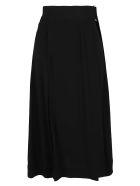 Victoria Beckham Matt Crepe Satin Skirt