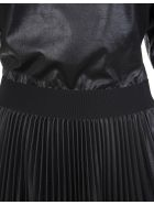 Givenchy Black Givenchy Lacquered Pleated Short Dress